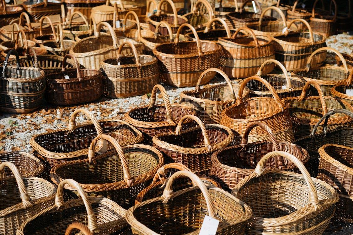 Brown Wicker Baskets