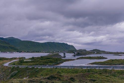 Ingyenes stockfotó felhők, híd, infrastruktúra témában