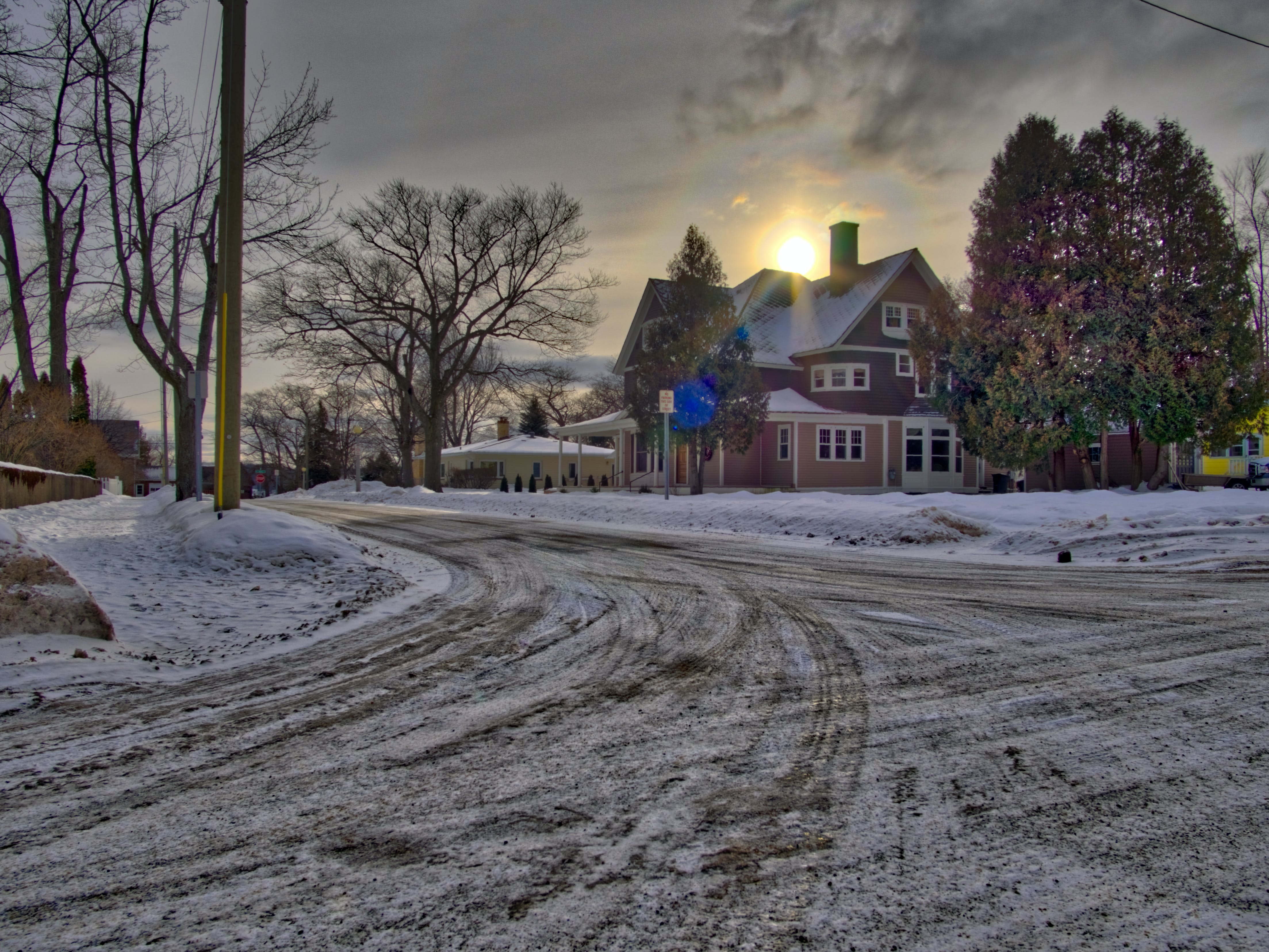 Free stock photo of hdr, house, sky, snow