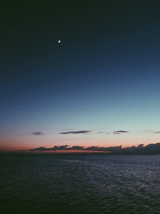 air, atmosphère, aube