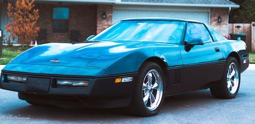 Foto stok gratis biru, Corvette