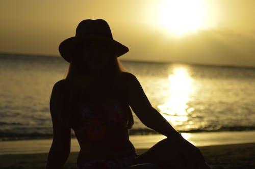 Ảnh lưu trữ miễn phí về ánh sáng ban ngày, bãi biển, bầu trời buổi tối, bóng