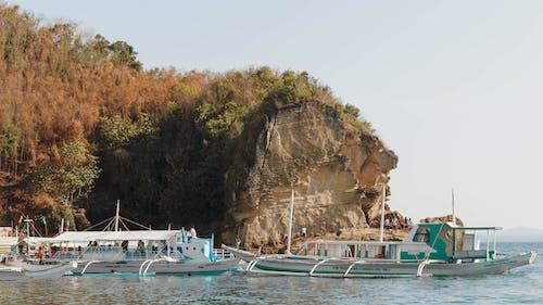 deniz, deniz araçları, Filipinler, gemiler içeren Ücretsiz stok fotoğraf