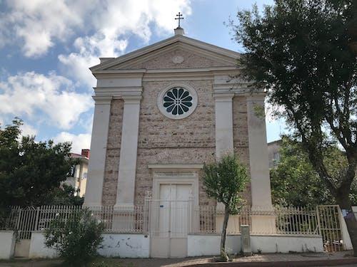 Fotobanka sbezplatnými fotkami na tému architektonický dizajn, budova kostola, Istanbul, kostol
