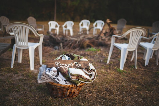 Free stock photo of grass, chairs, outdoors, seats