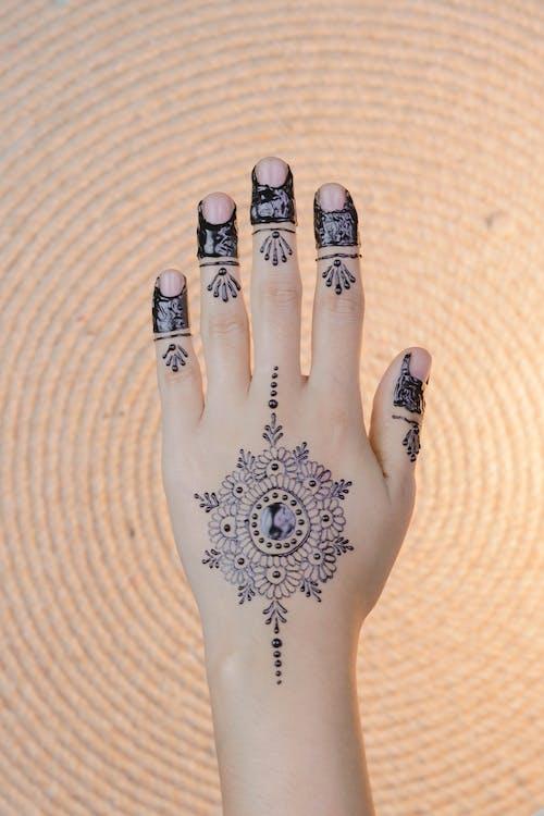 Základová fotografie zdarma na téma barvy, design, henna, jasný