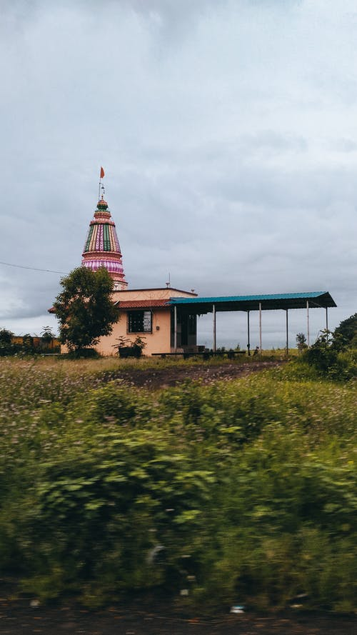 Foto profissional grátis de beleza na natureza, templo hindu