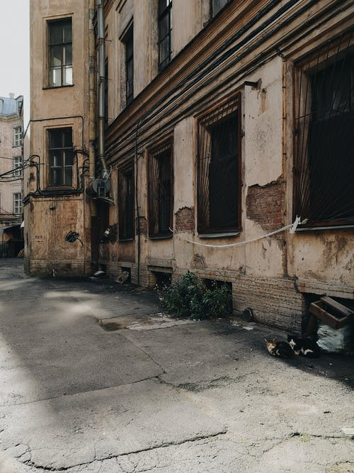 Photo Of An Abandoned Building During Daytime