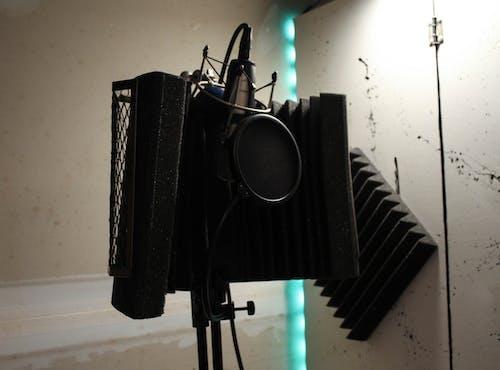 Free stock photo of microphone, music studio, recording studio, studio