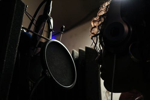 Free stock photo of microphone, music, music recording, recording