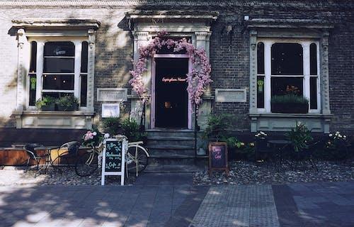 Fotos de stock gratuitas de bar cafetería, cafetería, calle, calles