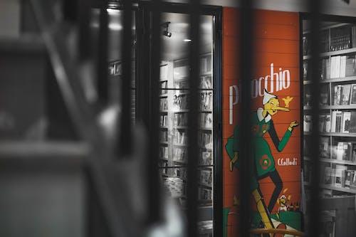 Darmowe zdjęcie z galerii z księgarnia, pinokio