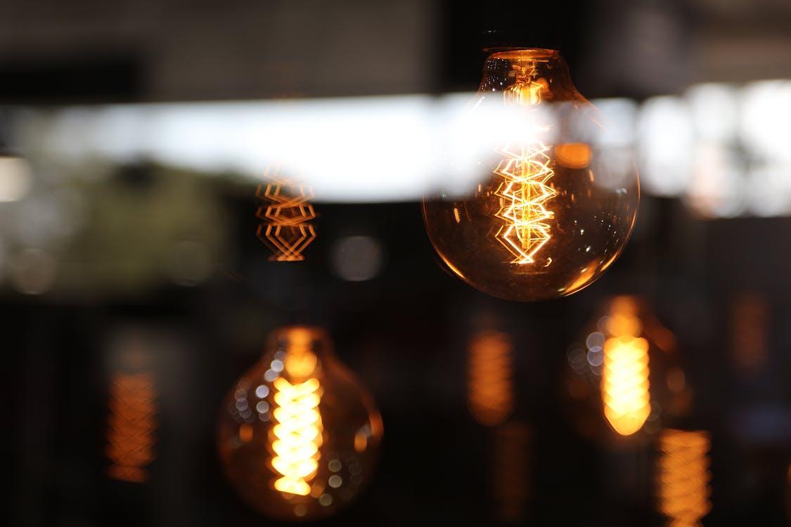 Free stock photo of idea, lamp, light