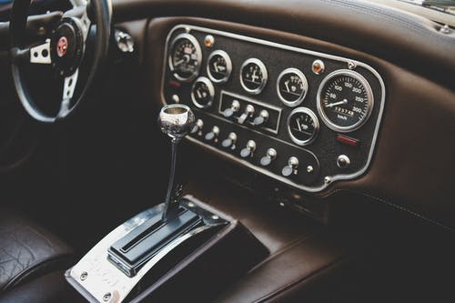Free stock photo of automobile, car, car interior, chrome