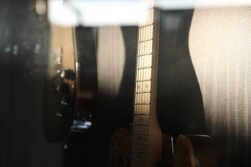 Free stock photo of acoustic guitar, guitar, music