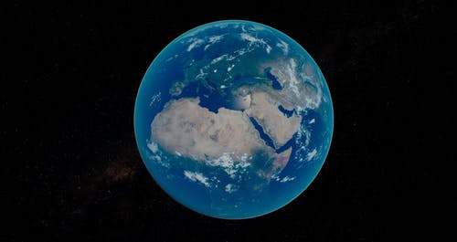 Free stock photo of earth, earth from space, global, globe
