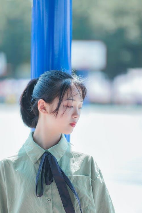 açık fotoğrafçılık, açık hava, aşındırmak, Asyalı kadın içeren Ücretsiz stok fotoğraf
