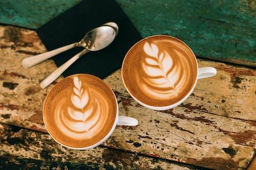 Δωρεάν στοκ φωτογραφιών με latte art, αγροτικός, αλοιφή, αναψυκτικό