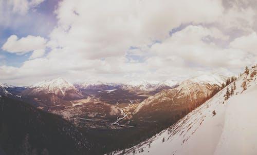 Ingyenes stockfotó ég, felhők, havas csúcs, hegyek témában