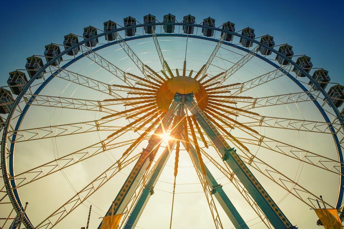 Low-Angle Photo of Ferris Wheel