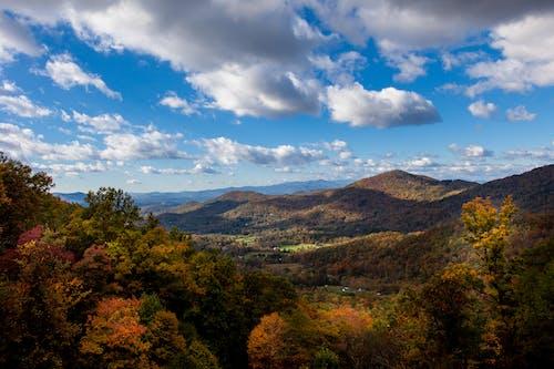 คลังภาพถ่ายฟรี ของ ตก, ปาร์คเวย์สันสีฟ้า, ภูมิทัศน์, ภูเขา