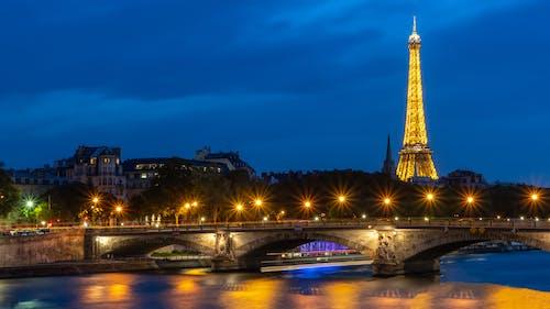 エッフェル塔, シティ, タワー, パリの無料の写真素材
