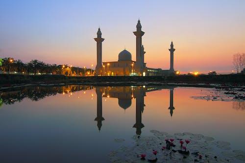 Foto stok gratis agama, air, Arsitektur, arsitektur islam