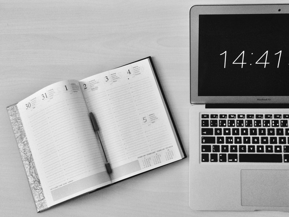 apple device, black-and-white, business