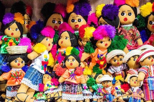 Immagine gratuita di bambole, colori, cultura, guatemala