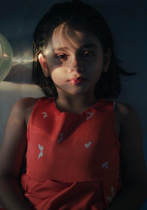 兒童, 双重曝光, 咖啡色頭髮的女人, 女孩 的 免费素材照片