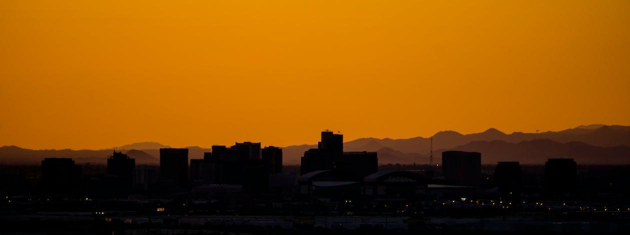 arizona, cityscape, color