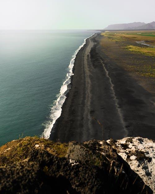 Gratis arkivbilde med eventyr, island, overse, svart sandstrand