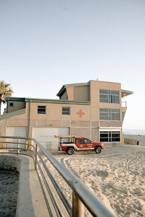 acil Durum, açık hava, araba, bina içeren Ücretsiz stok fotoğraf