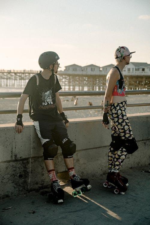 おとこ, スケーター, スケート, スタイルの無料の写真素材