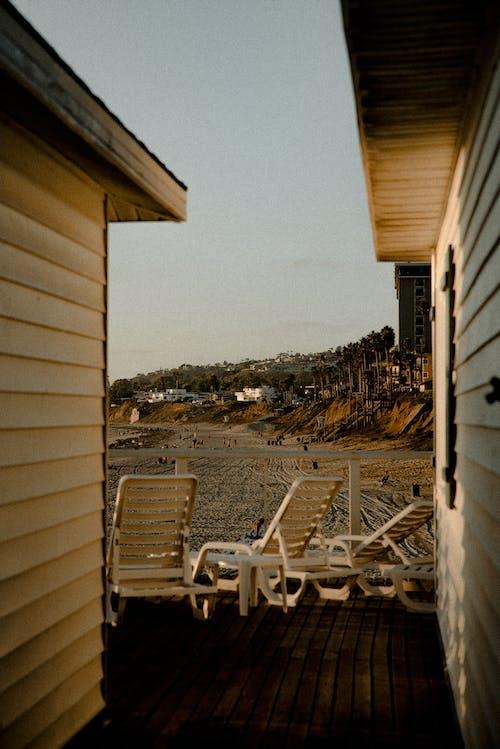 Photos gratuites de architecture, bâtiment, bois, bord de mer