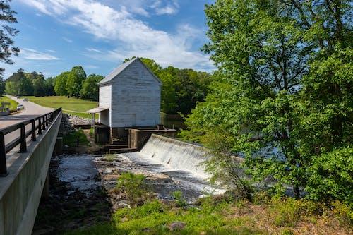 Foto d'estoc gratuïta de aigua, estiu, molí, molí de grist