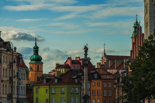 건물, 구시가지, 바르샤바, 올드타운의 무료 스톡 사진