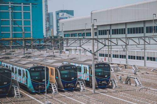 Foto profissional grátis de cidade, estação de trem, fuga da cidade, Indonésia