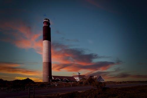 Foto d'estoc gratuïta de alba, arquitectura, capvespre, far