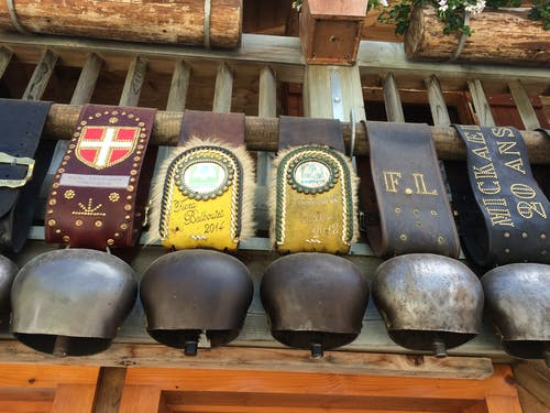 Free stock photo of cowbells, france, mountains