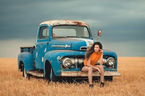 Ingyenes stockfotó jármű, kamion, kapucni, klasszikus témában