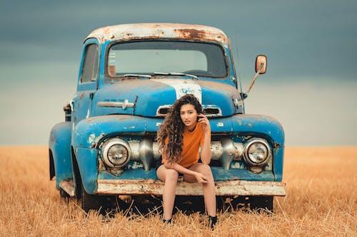 Ingyenes stockfotó autóipar, felvenni, jármű, kamion témában