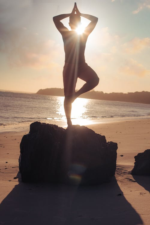 Free stock photo of beach, beautiful sunset, blue water