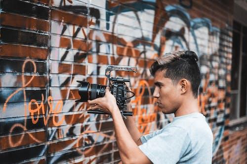 Gratis stockfoto met camera, fotograaf, herfst, jeugd