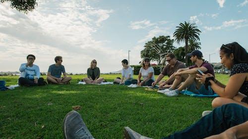 一起, 亞洲人, 公園, 友誼 的 免費圖庫相片