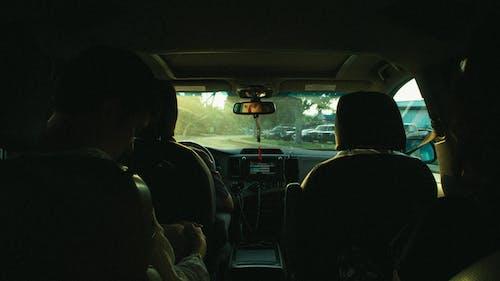 ダッシュボード, ドライバー, ハンドル, フロントガラスの無料の写真素材