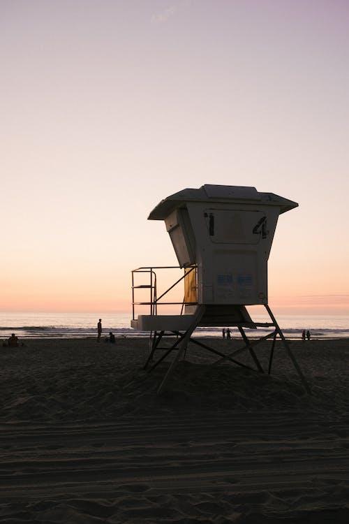 모래, 모래로 뒤덮인, 사람, 새벽의 무료 스톡 사진