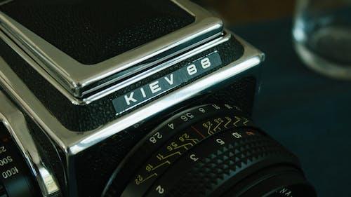 Бесплатное стоковое фото с аналоговый, камера, ретро, электроника