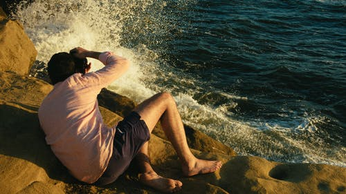 Ingyenes stockfotó fénykép, fényképez, Férfi, hullámok témában
