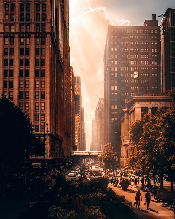 açık hava, bakış açısı, binalar